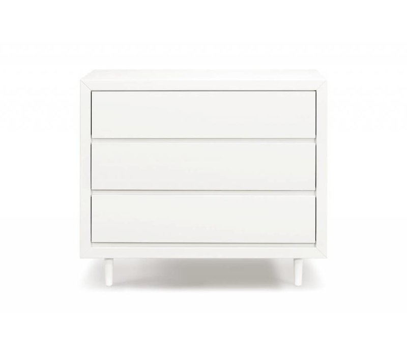 Ubabub Nifty 3 Drawer In Warm White
