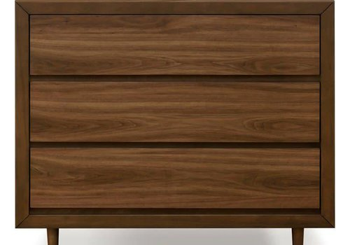 Ubabub Ubabub Nifty 3 Drawer In Walnut