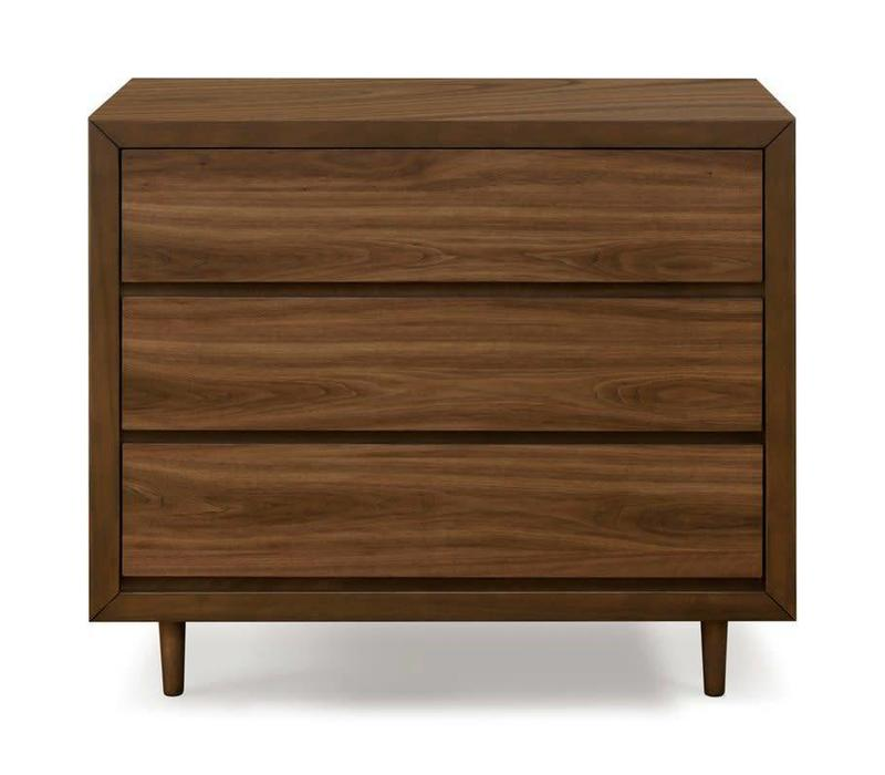 Ubabub Nifty 3 Drawer In Walnut