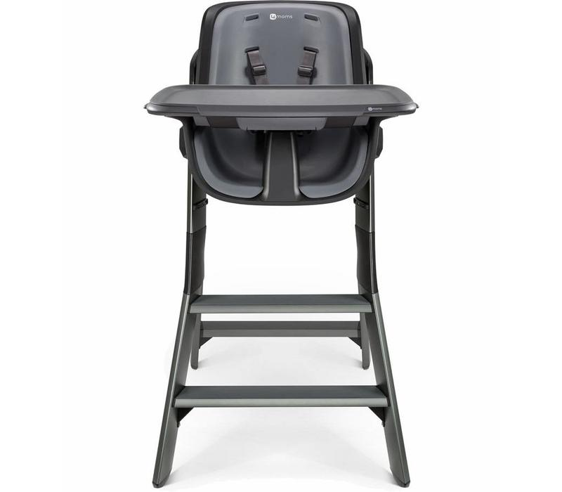 4moms High Chair In Black- Grey