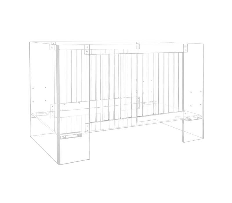 Nursery Works Vetro Crib In Clear