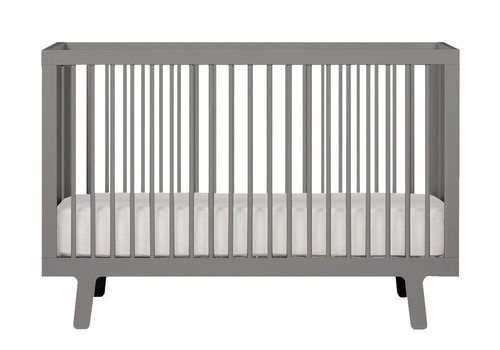 Oeuf Oeuf Sparrow Crib In Grey
