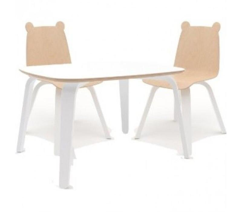 Oeuf Play Table In White