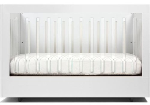 Spot On Square Spot On Square Roh Crib In White- 2 Sides Acrylic