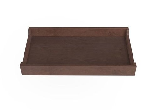 """Spot On Square Spot On Square 34"""" Wide Changing Tray-Walnut Stain"""