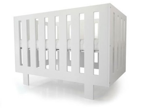 Spot On Square Spot On Square Eicho Crib - White