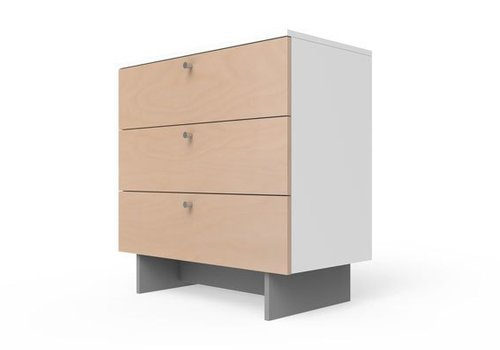 "Spot On Square Spot On Square Roh Dresser 34"" Wide - White-Birch"