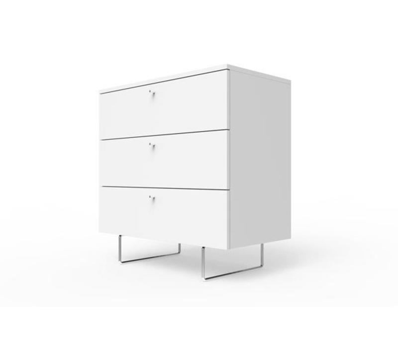 "Spot On Square Alto Dresser 34"" - White"