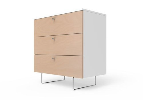 "Spot On Square Spot On Square Alto Dresser 34"" - White-Birch"