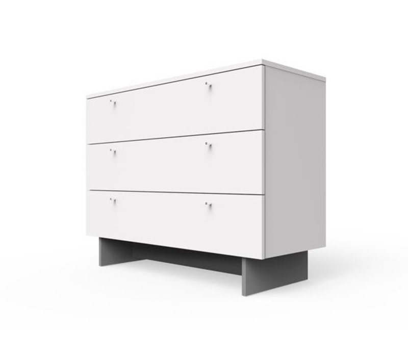 "Spot On Square Roh Dresser 45"" Wide - White"