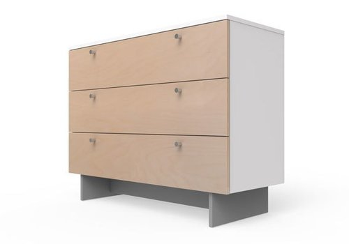 "Spot On Square Spot On Square Roh Dresser 45"" Wide - White-Birch"
