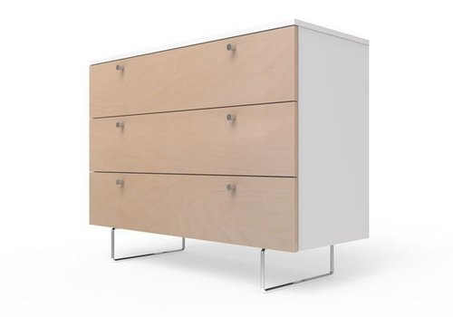 "Spot On Square Spot On Square Alto Dresser 45"" - White-Birch"