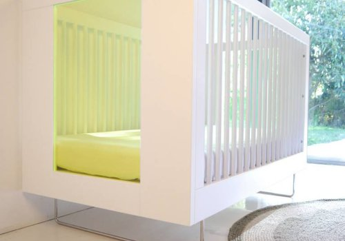 Spot On Square Spot On Square Alto Crib With Kiwi Acrylic