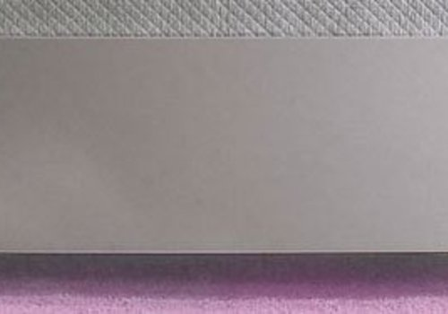 "Natart Natart Alexa Low Profile Footboard 54"" In Silver"