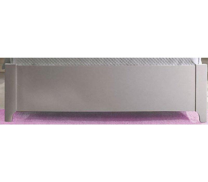 "Natart Alexa Low Profile Footboard 54"" In Silver"