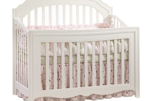 Natart Natart Allegra 4 In 1 Convertible Crib to Double In French White
