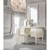 Natart Natart Allegra Desk With Seating In French White