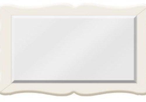 Natart Natart Allegra Mirror In French White