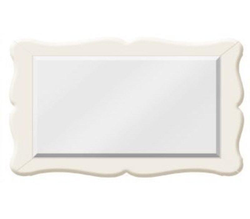 Natart Allegra Mirror In French White