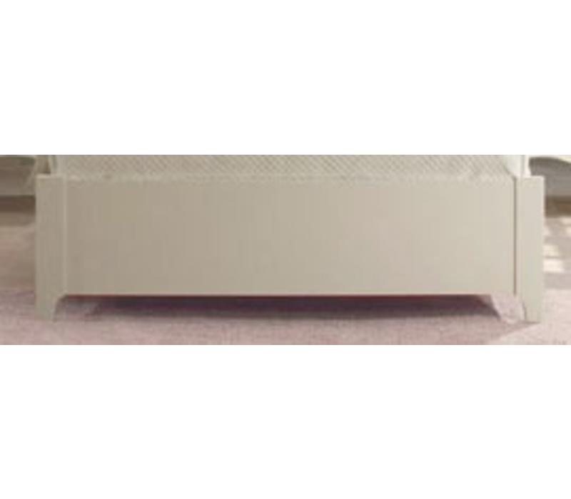 "Natart Allegra Low Profile Footboard 54"" In French White"