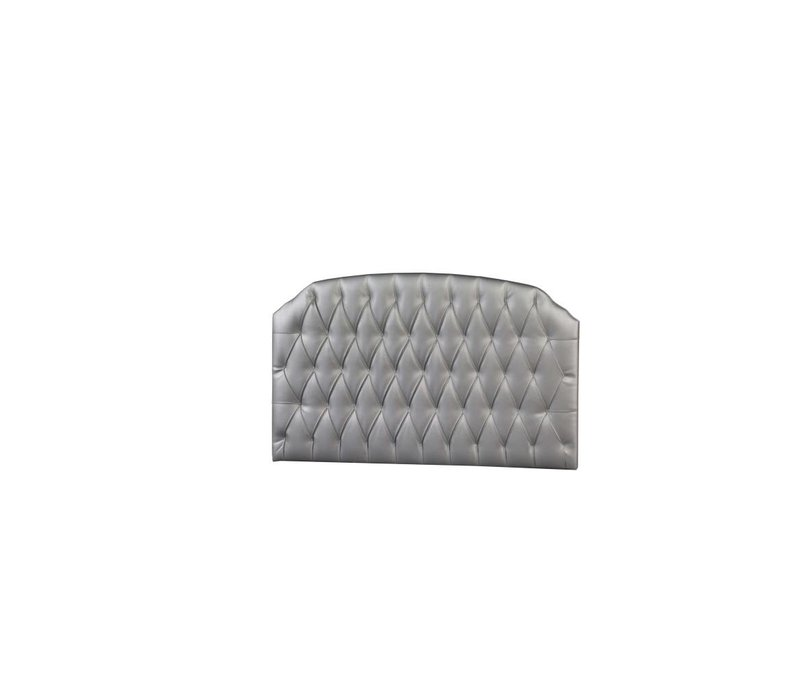 Natart Allegra-Alexa Tufted Panel In Silver