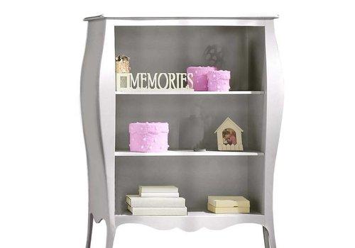 Natart Natart Alexa Bookcase In Silver