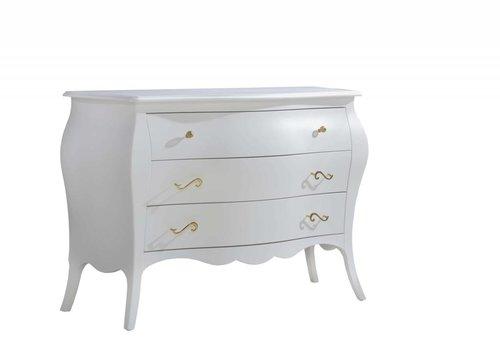 Natart Natart Allegra Gold 3 Drawer Dresser