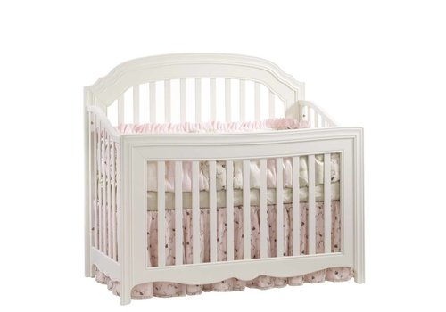 Natart Natart Allegra 4 In 1 Convertible Crib to Double In Linen