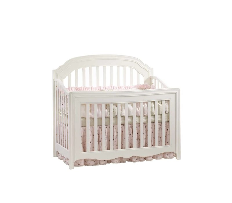 Natart Allegra 4 In 1 Convertible Crib to Double In Linen
