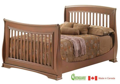 Natart Natart Bella Double Bed 54 Inches In Walnut