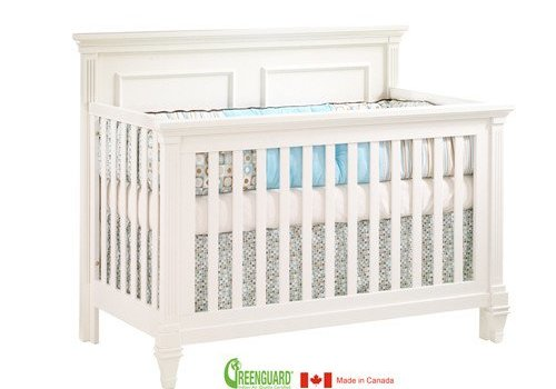 Natart Natart Belmont 4 In 1 Convertible Crib In French White