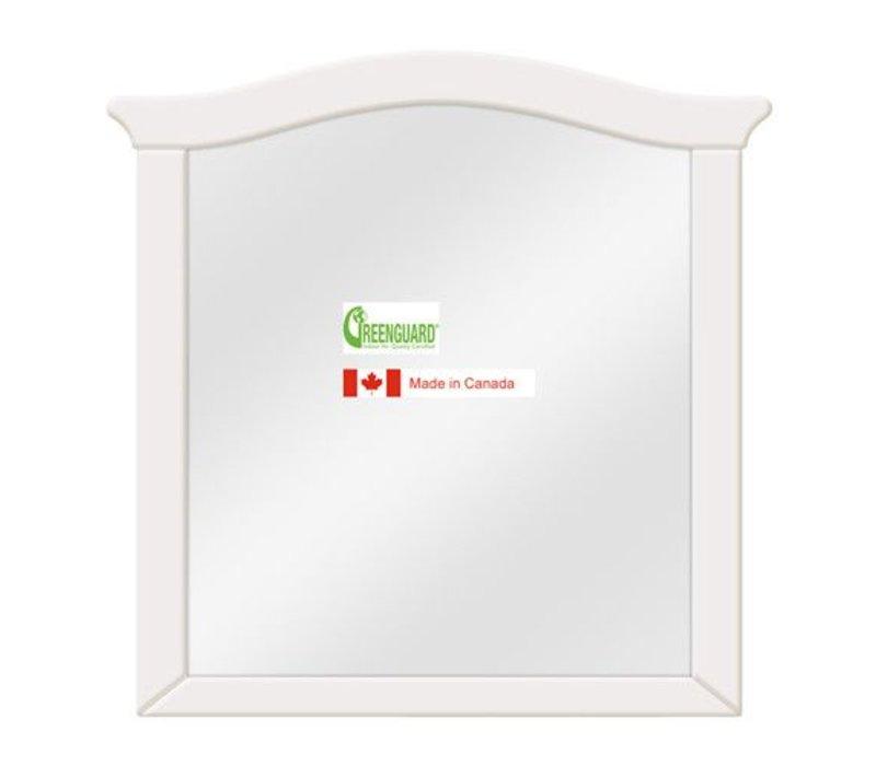 Natart Belmont Mirror In French White