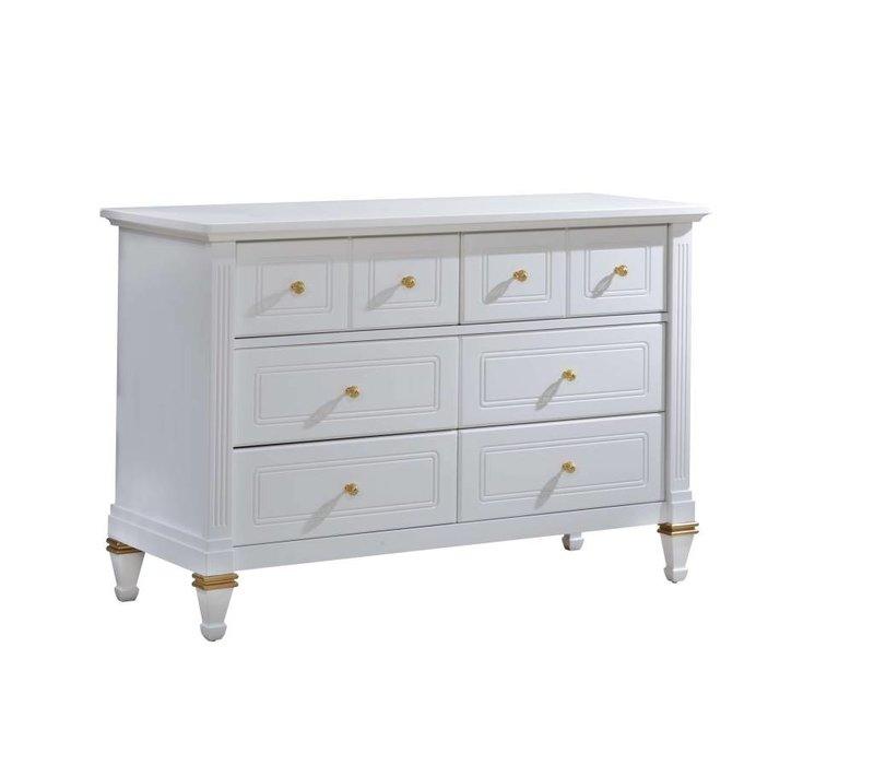 Natart Belmont Gold Double Dresser