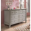 Natart Natart Belmont Double Dresser In Stone Grey