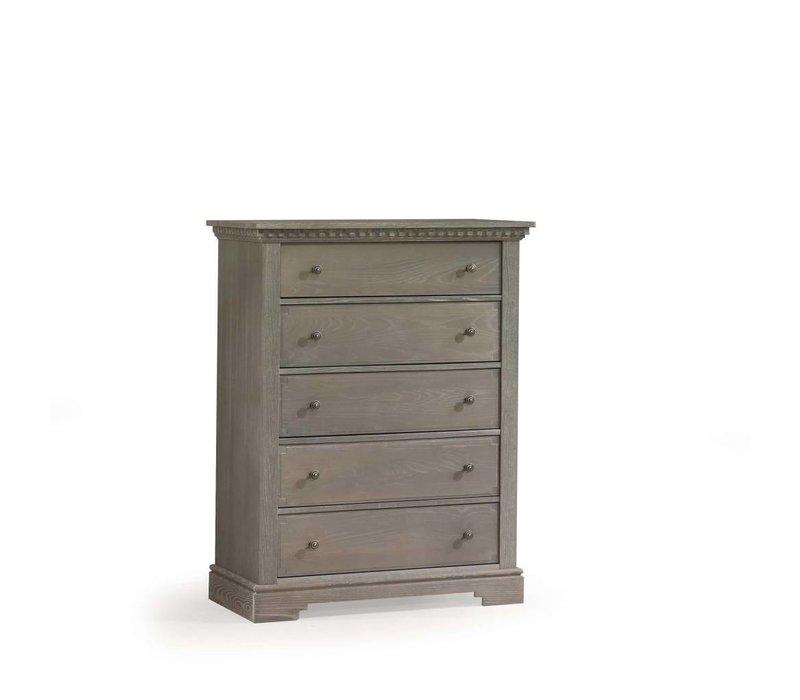 Natart Ithaca 5 Drawer Dresser In Owl