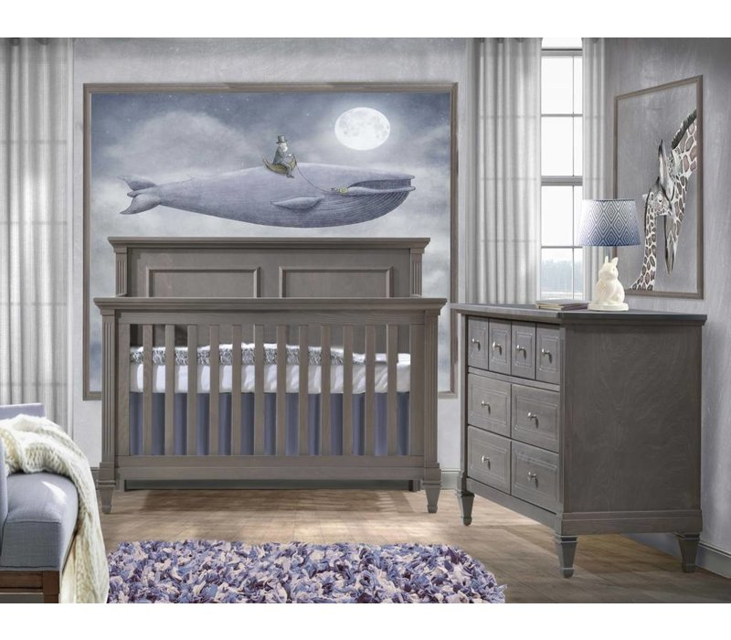 Belmont Crib In Grigio, And Double Dresser