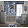 Natart Natart Cortina Crib IN Grey Chalet , Double Dresser,5 Drawer Dresser, And Changer