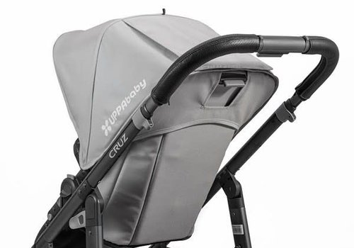 UppaBaby Uppa Baby Cruz Leather Black Handlebar Covers- For Cruz 2015-Later