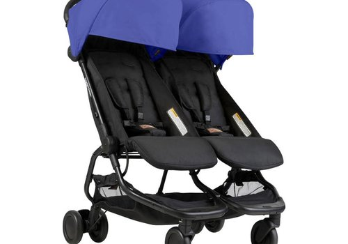 Mountain Buggy 2018 Mountain Buggy Duo Nano Travel Double In Nautical