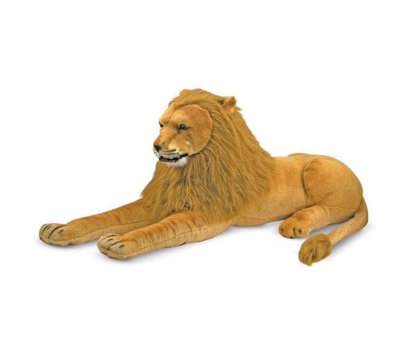 Melissa And Doug Lion Giant Stuffed Animal