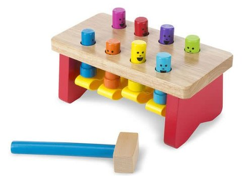 Melissa And Doug Melissa And Doug Deluxe Pounding Bench Toddler Toy