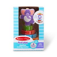 Melissa And Doug First Play Elephant Rocking Stacker