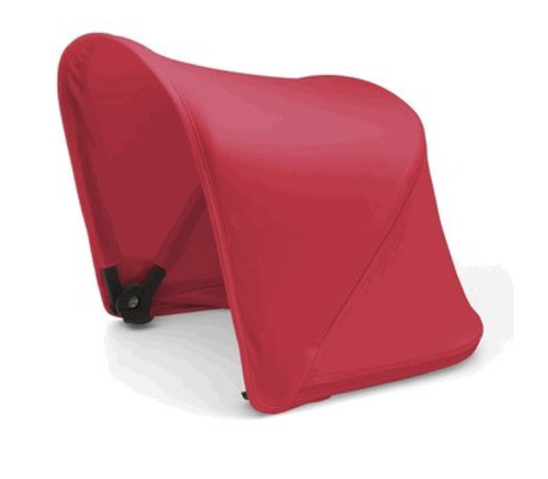 Bugaboo Cameleon/Fox Sun Canopy In Neon Red