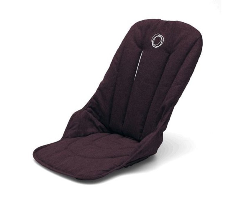 Bugaboo Fox Seat Fabric In Red Melange