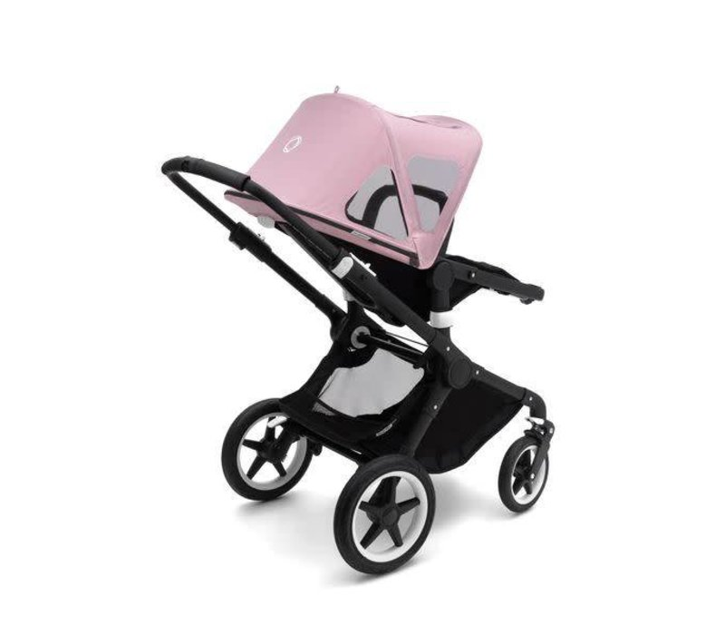 Bugaboo Fox and Cameleon3 Breezy Sun Canopy In Soft Pink
