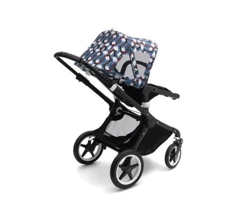 Bugaboo Fox and Cameleon3 Breezy Sun Canopy In Waves