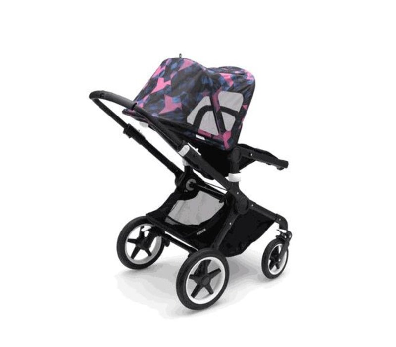 Bugaboo Fox and Cameleon3 Breezy Sun Canopy In Birds