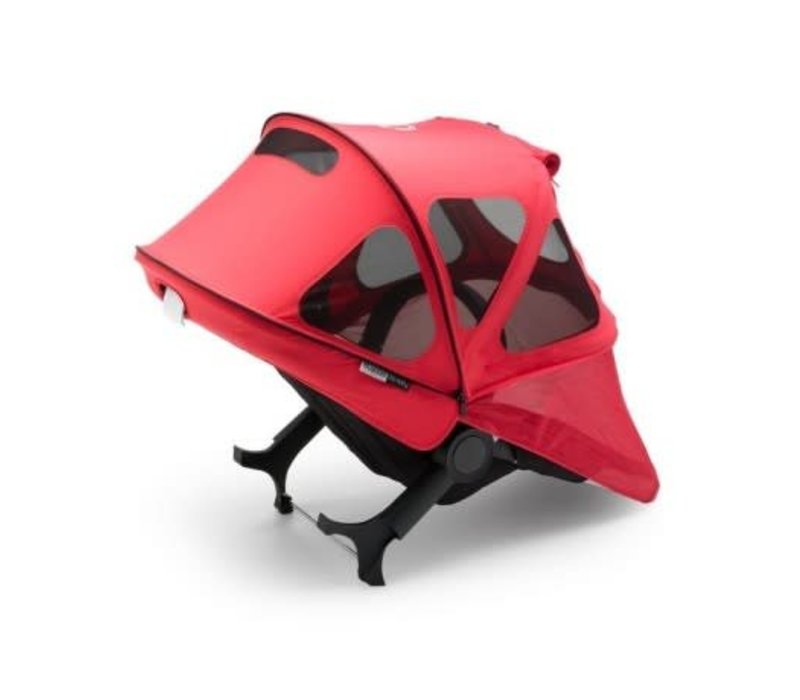 Bugaboo Fox and Cameleon3 Breezy Sun Canopy In Neon Red
