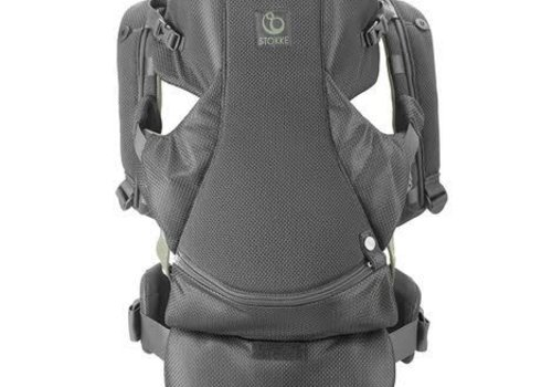 Stokke Stokke MyCarrier Front And Back Carrier In Green Mesh