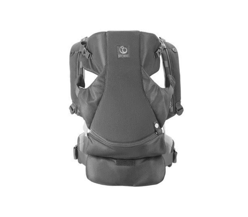 Stokke MyCarrier Front Carrier In Grey Mesh
